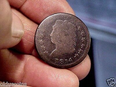 Better Date Early United States 1814 Classic Head Large Cent Nice Original Coin