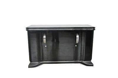 Classic Art Deco Sideboard With Chrome Appointments