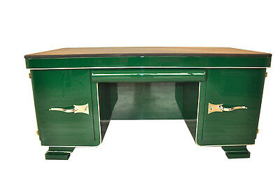 Exquisitely Beautiful Art Deco Desk With Rarity