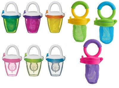 Munchkin Fresh Food Feeder Mesh / Silicone Weaning / Teething