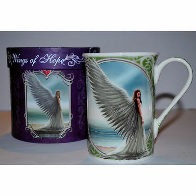 Spirit Guide Mug by Anne Stokes Fine China Fantasy Collectable in Gift Box