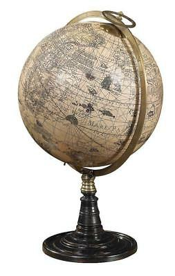 "G337: Large Globe ""Die Old World"" on Jodocus Hondius, Old World Globe Posture"