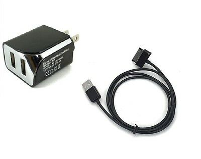 Wall AC Charger+USB Cable for Samsung Galaxy Tab2 Tab 2 10.1 GT-P5113TS Tablet