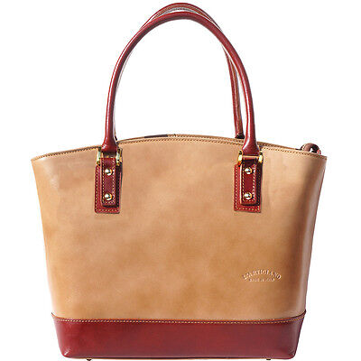 Shoulder Bag Italian Genuine Leather Hand made in Italy Florence 204 ltb