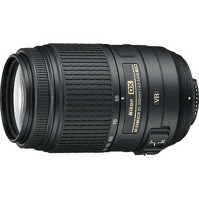 Nikon AF-S NIKKOR 55-300mm f/4.5-5.6G ED VR Zoom Lens - Factory Refurbished