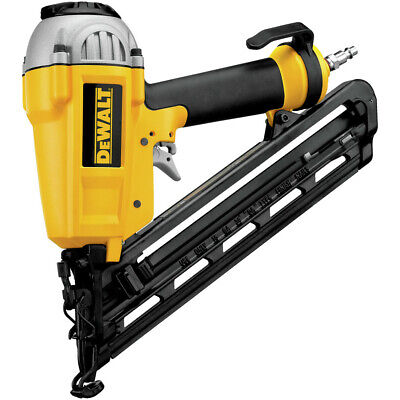 "DEWALT 15-Gauge 1"" - 2-1/2"" Angled Finish Nailer Kit D51276K New"