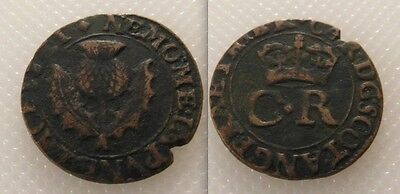 "Collectable Coin of Charles I .  ""Turner"" Two Pence -  Dates  1625-1649."