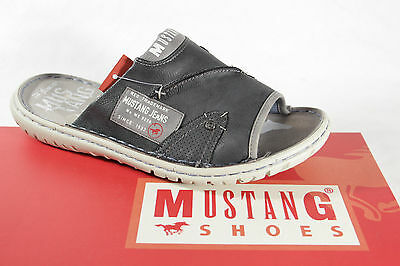 Mustang Men's Sandals grey with soft inner sole NEW