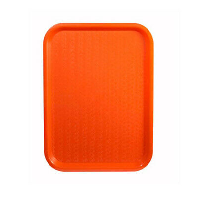 Winco FFT-1418O, 14x18-Inch Orange Plastic Fast Food Tray