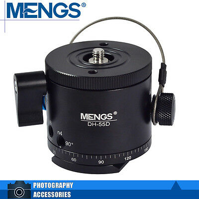 MENGS DH-55D Panoramic Indexing Rotator + Quick Release Plate + Clamp