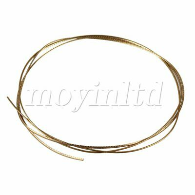 Professional Acoustic Guitar Fret Wire Golden Fretwire 2mm Width Guitar Tool