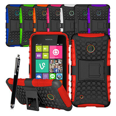 Various Heavy Duty Shock Proof Builders Case Cover For Nokia Microsoft Lumia