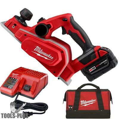 "Milwaukee 2623-21 M18 3-1/4"" Planer Kit New"