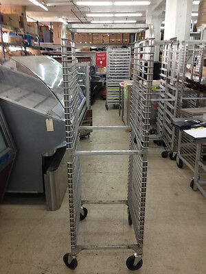 "Win-Holt 20"" Riveted End Load 34 Pan Oven Rack"