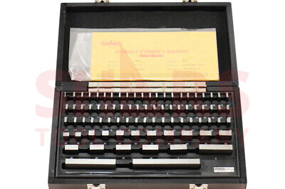 Shars 81 Pcs Grade B Gage Gauge Block Set Nist Certificate Traceable New