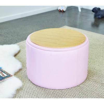New Kids Childrens Toddler PinkToy Storage Chest Box Activity Table Chair