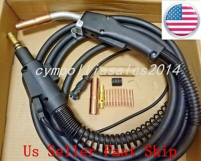 MIG WELDING GUN &TORCH 10' 250AMP replacement for LINCOLN Magnum 250L