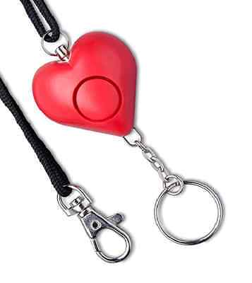 Heart Purse / Bag Alarm. Theft Prevention Alarm for Bags