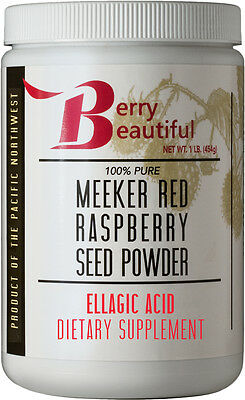 Meeker Red Raspberry Seed Powder  - 1 lb (454g) - Direct from the producers!