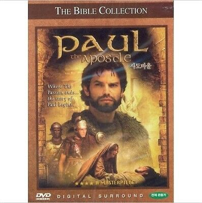 THE BIBLE COLLECTION # PAUL THE APOSTLE (2000) DVD (Sealed)