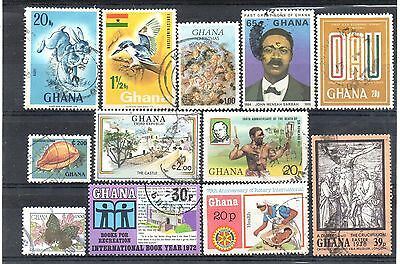 GHANA = New Selection of more modern FINE USED stamps. (a)