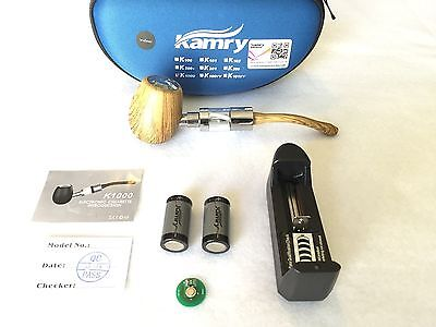 K1000 E-Pipe KIT AUTHENTIC WALNUT Wood Old Fashioned Electronic Epipe USA sell