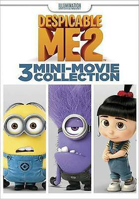 Despicable me 2: 3 Mini-Movie Collection (DVD, 2014, Universal) NEW