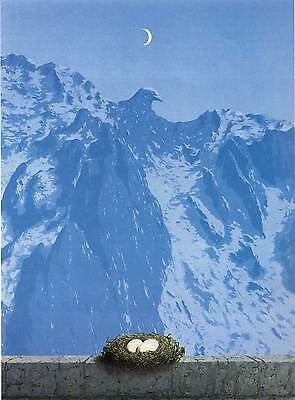 Magritte # 14 cm 35x50 Poster Affiche Plakat Cartel Stampa Grafica Art papiarte