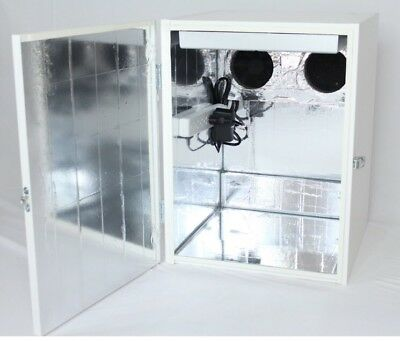2.0 Stealth Grow Box With LED Grow Light Dirt Or Hydroponic