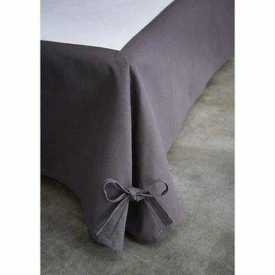 TODAY Cache sommier 140x190 cm canon - CDaffaires - Cache sommier gris NEUF
