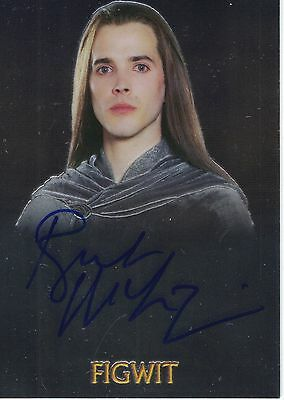 Lord of the Rings Topps Chrome Trilogy: Bret McKenzie (Figwit) autograph