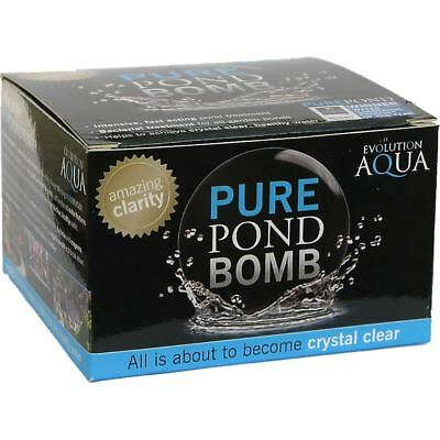 Evolution Aqua Pure Pond Bomb Pond Fish Cleaning Treatment KOI Clear Water