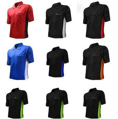COOLPLAY HYBRID DARTS SHIRT BY TARGET - Dual Colour Cool Play Polo, 8 SIZES