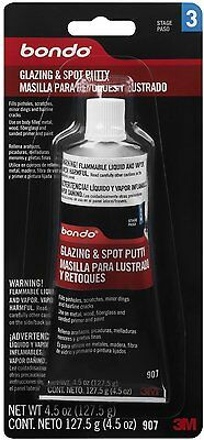 Bondo® Glazing & Spot Putty, 00907, 4.5 oz