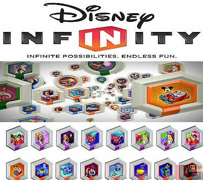 Disney Infinity Power Discs Serie 1 Complete Your Series