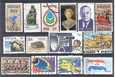 SOUTH AFRICA = New selection of FINE USED stamps. (d)