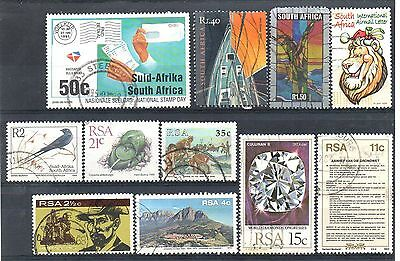 SOUTH AFRICA = New selection of FINE USED stamps. (g)