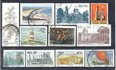 SOUTH AFRICA = New selection of FINE USED stamps. (h)