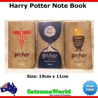 Harry Potter Magic Journal Travel Diary Girls Boys Note book vintage cahier Hot