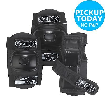 Zinc Protection Bike Safety Adjustable Knee, Elbow and Wrist Pads -From Argos