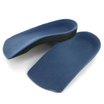 UNISEX 3/4 ORTHOTIC INSOLES for BACK & HEEL PAIN RELIEF PLANTAR FASCIITIS XS-XL