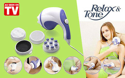 "Massaggiatore Tonificante ""relax & Tone"" Anti Cellulite E Dimagrante Visto In Tv"