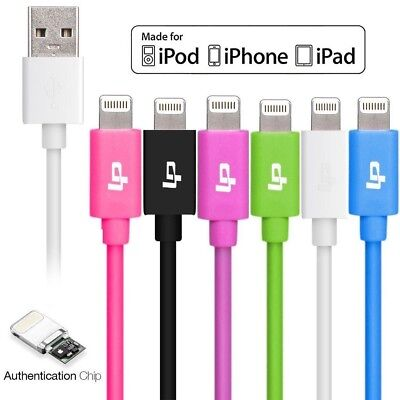 1M Apple MFI Lightning USB Sync Date Charger Cable for iPhone 7 6 6S Plus iPad