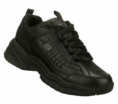 76759 Skechers Men's Soft Stride-GALLEY Work Slip Resistant EH Unisex Black