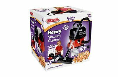 Henry The Hoover Kids Vacuum With Batteries Role Play Toy Cas580 S5339 X 2