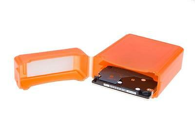 NEON Hard Protective Storage Case for 2x 2.5-inch hard drives / SSDs - Orange