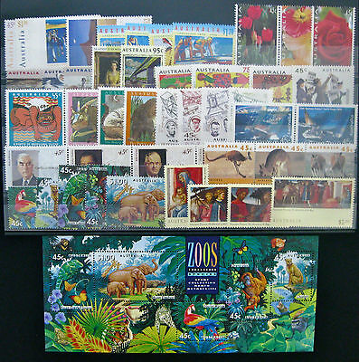 Full Year Collection of 1994 Australian Stamps