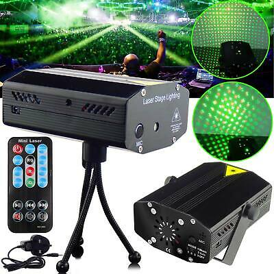 LED Stage Lighting Mini R&G Laser Projector Disco Party Club DJ Light UK Stock
