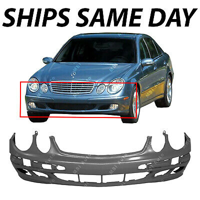 NEW Primered Front Bumper Cover Replacement for 2003-2006 Mercedes E320 350 500