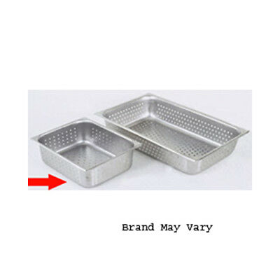 "Perforated Steam Pan, Half Size  (10-3/8"" x 12-3/4"")"